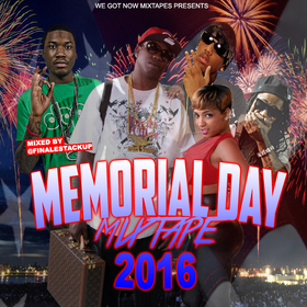 Memorial Day Mixtape 2016 Various Artists front cover