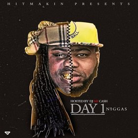 Day 1 Niggas DJ MF Cash front cover