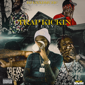 Trap Kickin Flav DJ Ruga Rell front cover