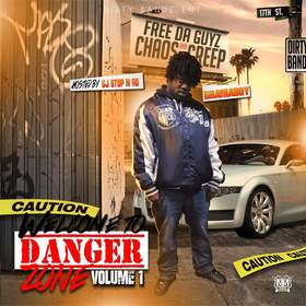 Welcome To The Danger Zone Vol.1 By DramaBoy DJ Stop N Go front cover