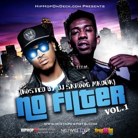 Hiphopondeck.com - No Filter Vol. 1 (Hosted By DJ Skroog Mkduk) Skroog Mkduk front cover
