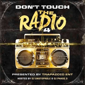 Don't Touch The Radio 4 DJ Phase 3 front cover
