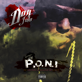 Don Julo- The P.O.N.I Hosted By Dj Young Cee Dj Young Cee front cover