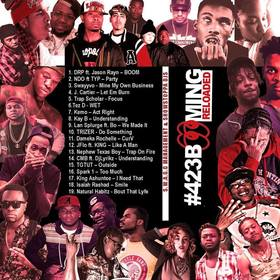 #423Booming 'Reloaded' Various Artists front cover