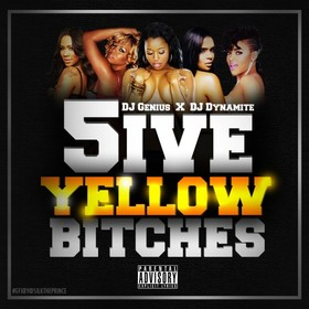 5ive Yellow Bitches DJ Genius front cover