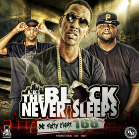 The Block Never Sleeps 168 DJ DES front cover