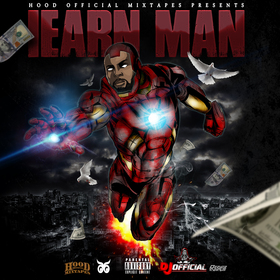 Iearn Man 3 DJ Official front cover