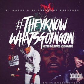 #TheyKnowWhatsGoingOn DJ MarcB front cover