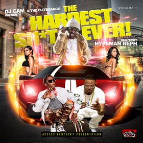 The Hardest Shit Ever Vol.1 DJ Cam front cover
