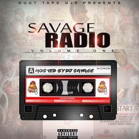 Savage Radio Volume 1 DJSavageSC front cover