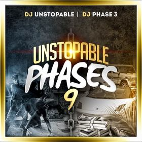 Unstopable Phases 9 DJ Phase 3 front cover