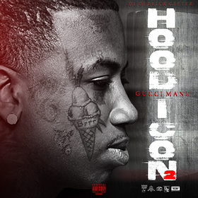 GUCCI MANE : HOOD ICON 2 DJ DERRICK GEETER front cover