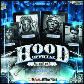 Hood Official Vol. 1 DJ Official front cover