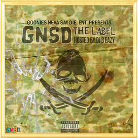 G.N.S.D- GNSD The Label DJ B Eazy front cover