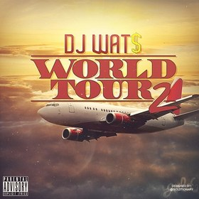 World Tour 2 DJ Wats front cover