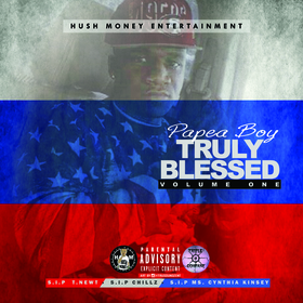 Papea Boy - Truly Blessed Volume 1 Colossal Music Group front cover