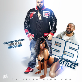HipHop & Rnb Stylez Vol 95 Various Artists front cover