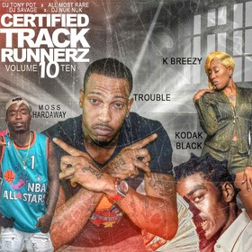 Certified Track Runnerz 10 Dj Tony Pot front cover