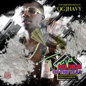 Trap Rookie Of The Year OG JHavy front cover