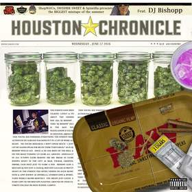 #HoustonChronicle DJ Bishopp front cover