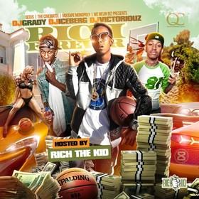 Rich Forever (Hosted By Rich The Kid) DJ Grady front cover