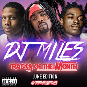 Tracks of the Month (June Edition) (2016) DJ Miles front cover