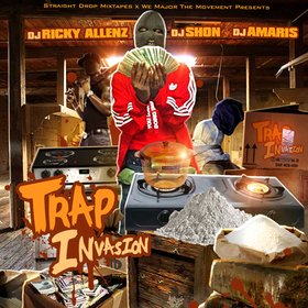Trap Invasion DJ Shon front cover