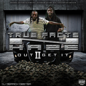 TRUE FACTS N HAZE : OUT TO GET IT 2 DJ DERRICK GEETER front cover