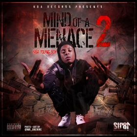 Mind Of A Menace 2 NBA YoungBoy front cover