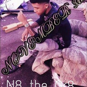 Nate Martinez - N8 The Great Heavy G front cover