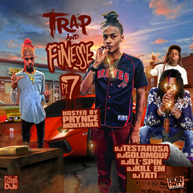 Trap & Finesse 7 Fully Loaded DJs front cover