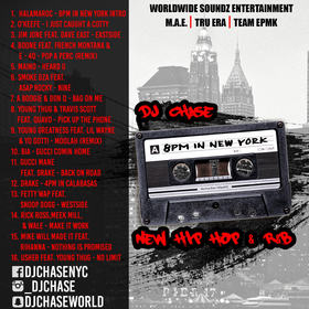 8pm In New York DJ Chase front cover
