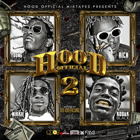 Hood Official Vol. 2 DJ Official front cover