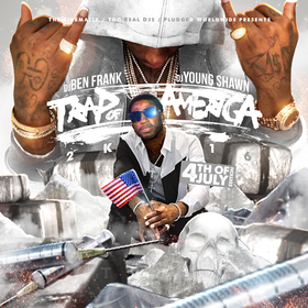 Trap Of America (4th Of July 2K16) Mixtape Monopoly Frank front cover
