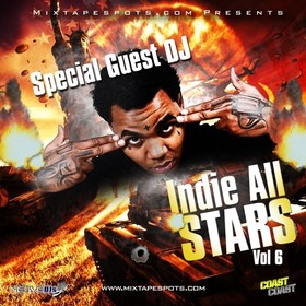 Mixtapespots.com - Indie All Stars Vol. 6 (Hosted By DJ Skroog Mkduk) Skroog Mkduk front cover