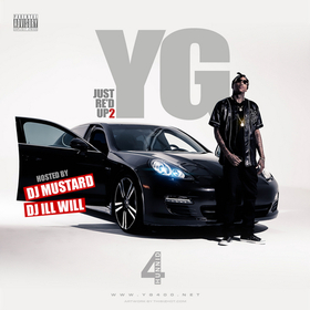 Just Re'd Up 2 YG front cover