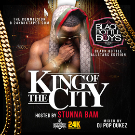 King Of The City Stunna Bam front cover