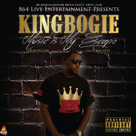 Music Is My Escape King Bogie 864 front cover