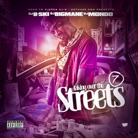 Taking Over The Streets 7 DJ B-Ski front cover