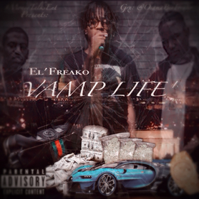 Vamp Life' Ep Ace'Freako front cover