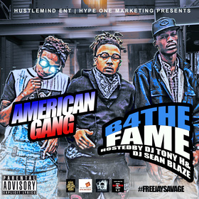 American Gang - B4 The Fame DJ Tony H front cover