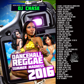 Dancehall/Reggae Summer Madness 2016 DJ Chase front cover