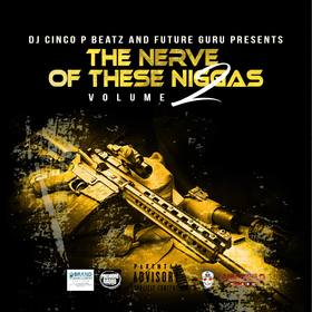 The Nerve Of These N!#%&$ Volume 2 DJ Cinco P Beatz front cover