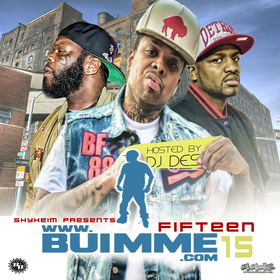Shyheim Presents BUIMME 15 Various Artists front cover
