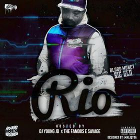 RIO: The Mixtape Blood Money front cover