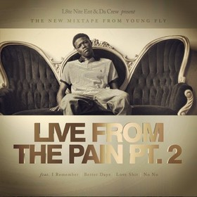Live From The Pain 2 DC Young Fly front cover