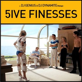5ive Finesses DJ Genius front cover