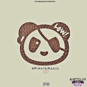 #PirateRadio EP LOW! (ALMIGHTEA) front cover