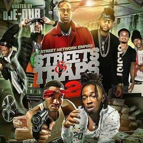Streets N Traps 2 Dj E-Dub front cover