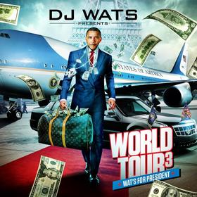 World Tour 3 DJ Wats front cover